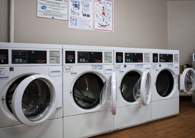 Laundry room at Creekside Apartments in Bensalem, PA